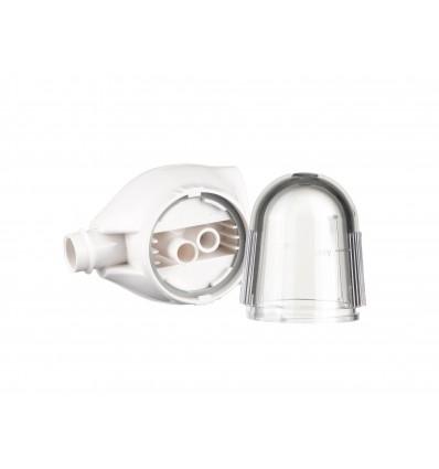 Głowica i kubek zbiorczy do aspiratora